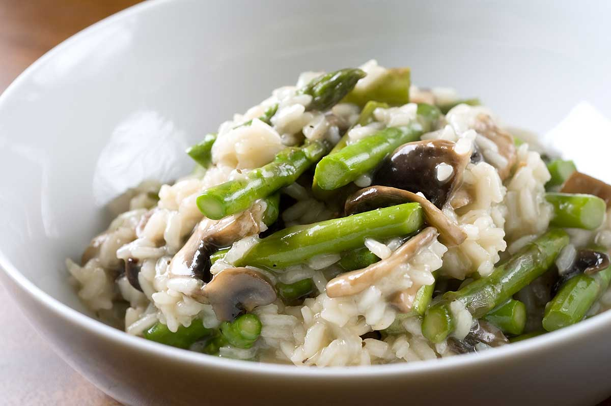 Recipe for Asparagus and Mushroom Risotto - Life's Ambrosia Life's ...