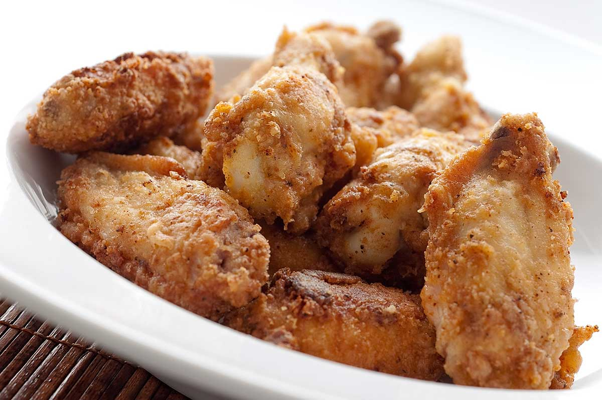 Recipe for Cajun Fried Chicken Wings - Life's Ambrosia Life's Ambrosia