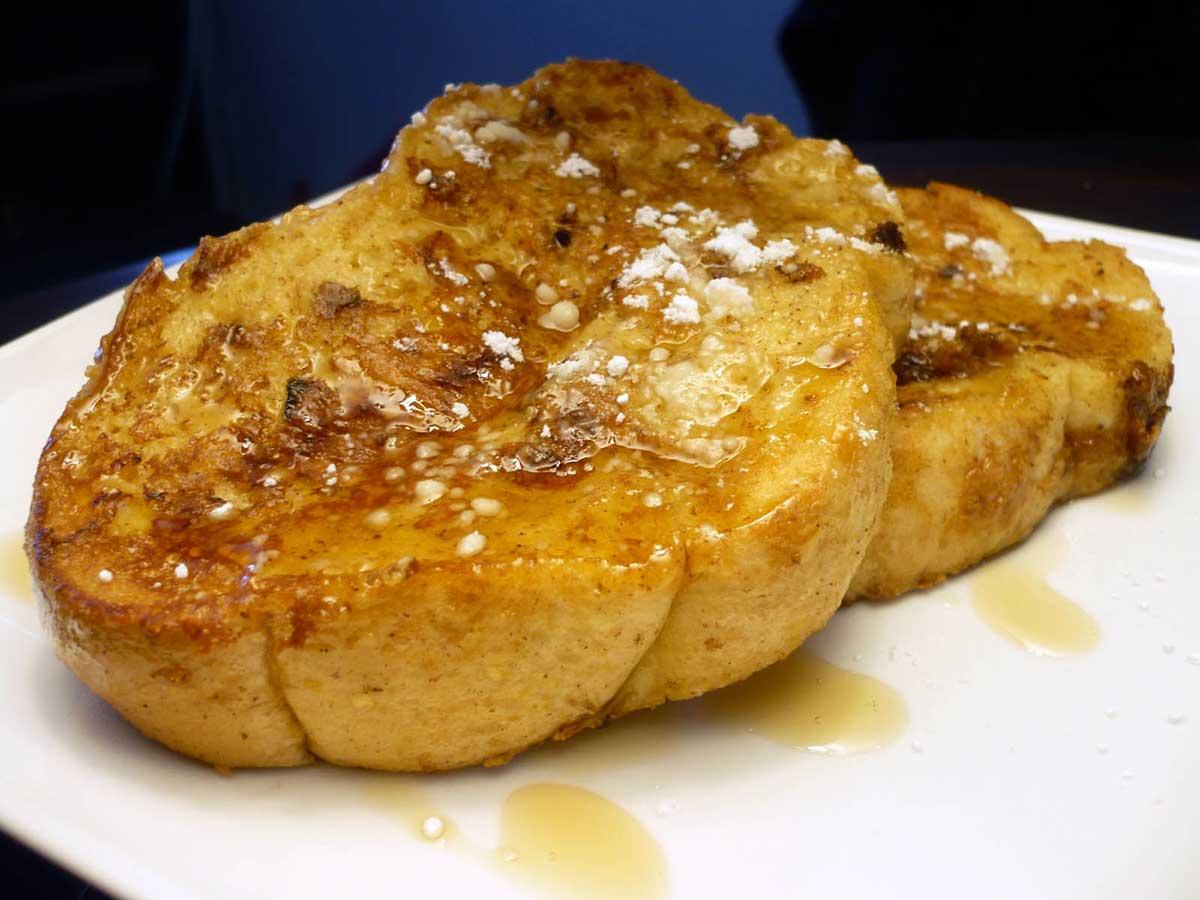 eggnog french eggnog french toast tis eggnog spiced french toast
