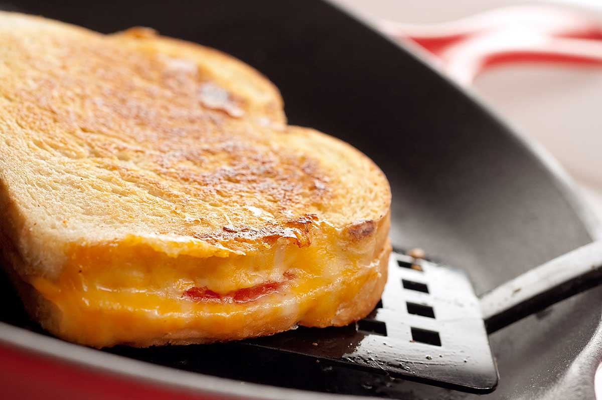 Recipe for Grilled Cheese and Tomato Sandwich - Life's Ambrosia Life'...