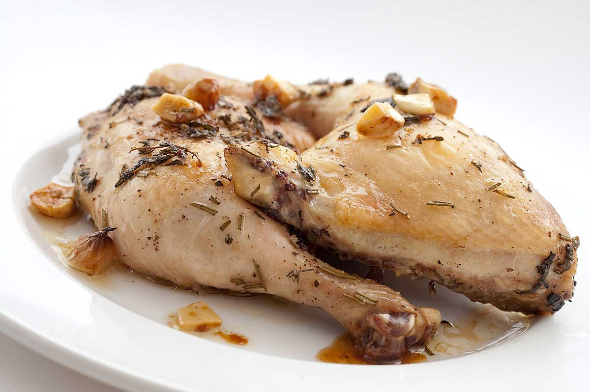 Recipe for Herb and Garlic Roasted Chicken - Life's Ambrosia Life's ...