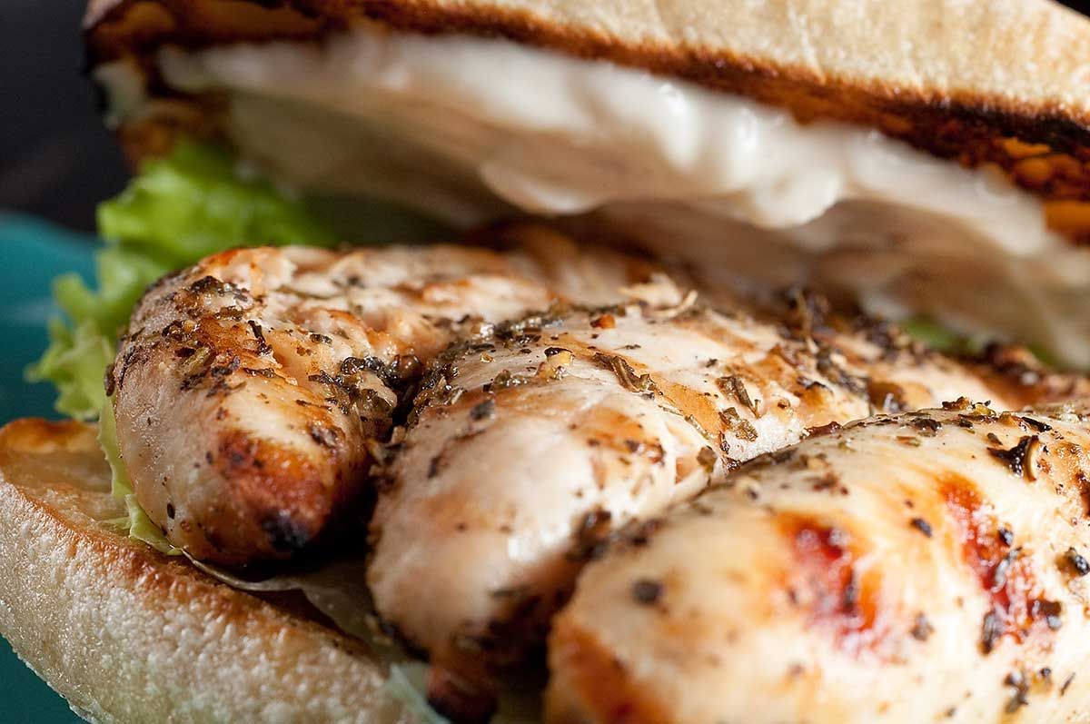 Herb Grilled Chicken Sandwich