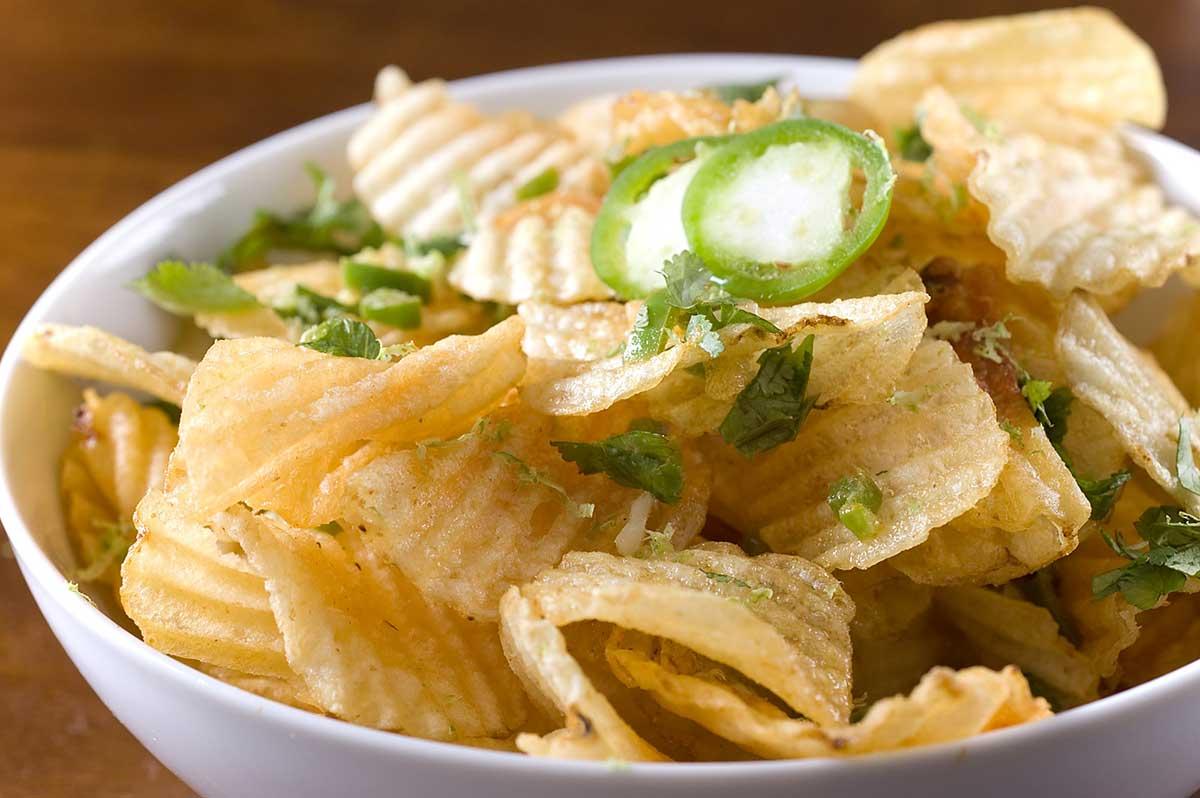 Recipe for Jalapeno Lime Potato Chips - Life's Ambrosia Life's ...