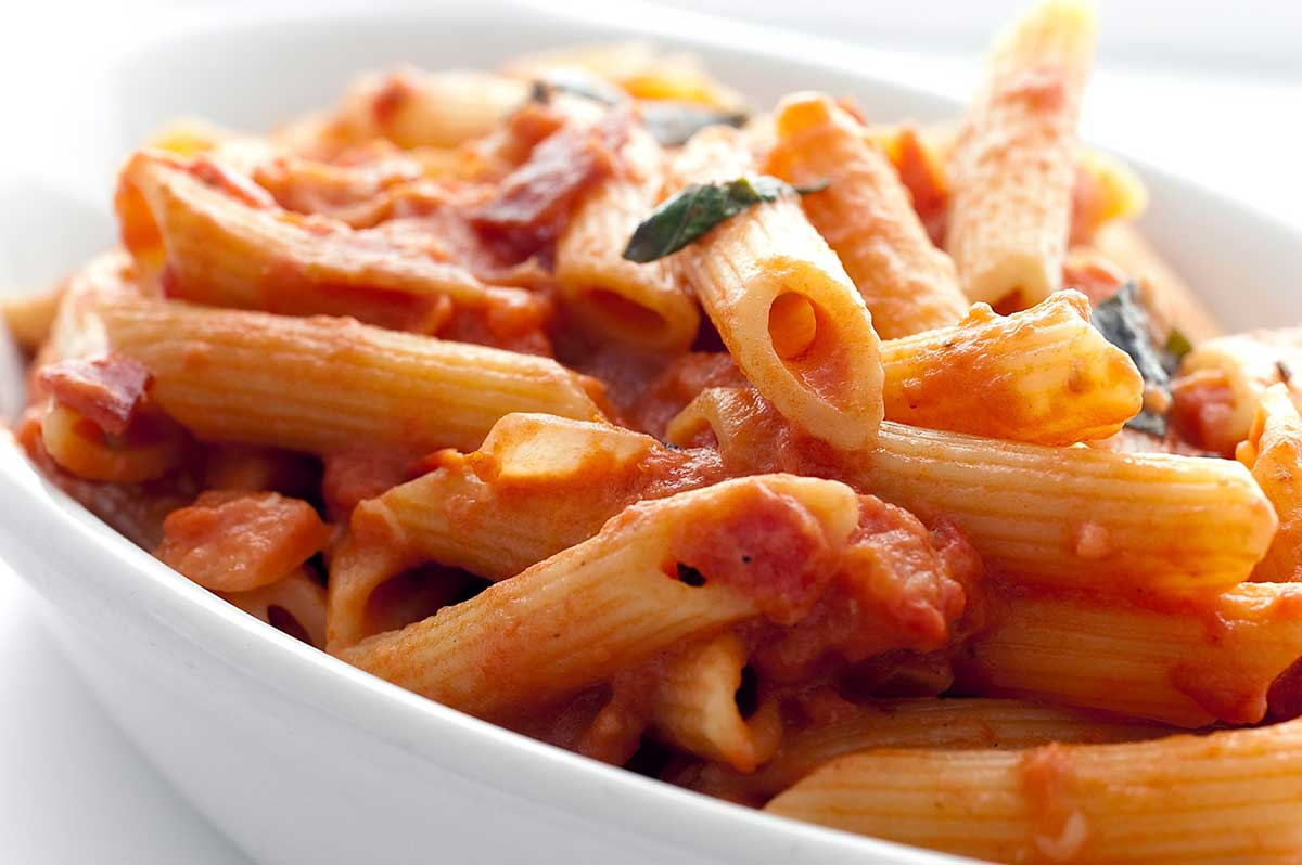 Recipe for Penne Alla Vodka - Life's Ambrosia Life's Ambrosia