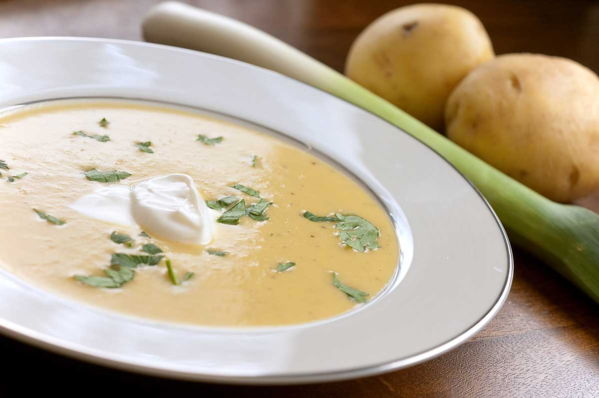 Recipe for Potato Leek Soup - Life's Ambrosia Life's Ambrosia