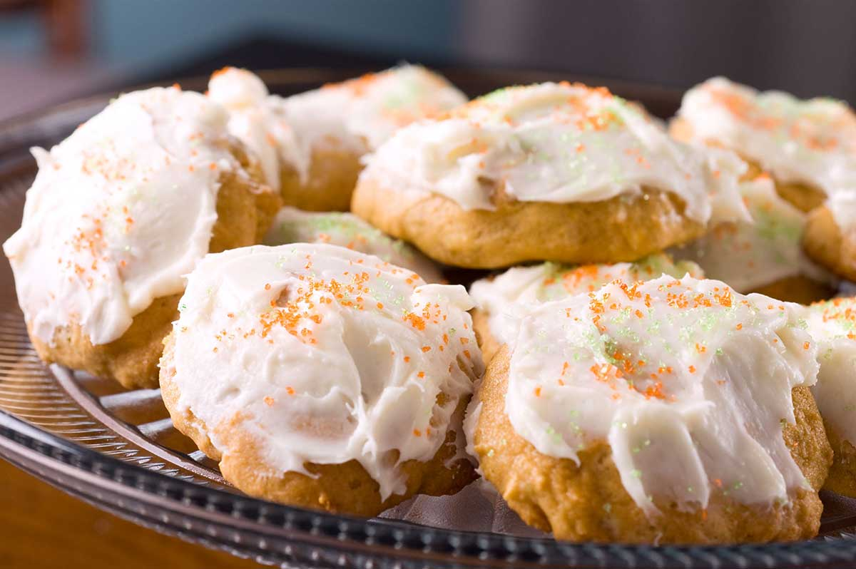 Recipe for Pumpkin Cookies with Cream Cheese Frosting - Life's ...