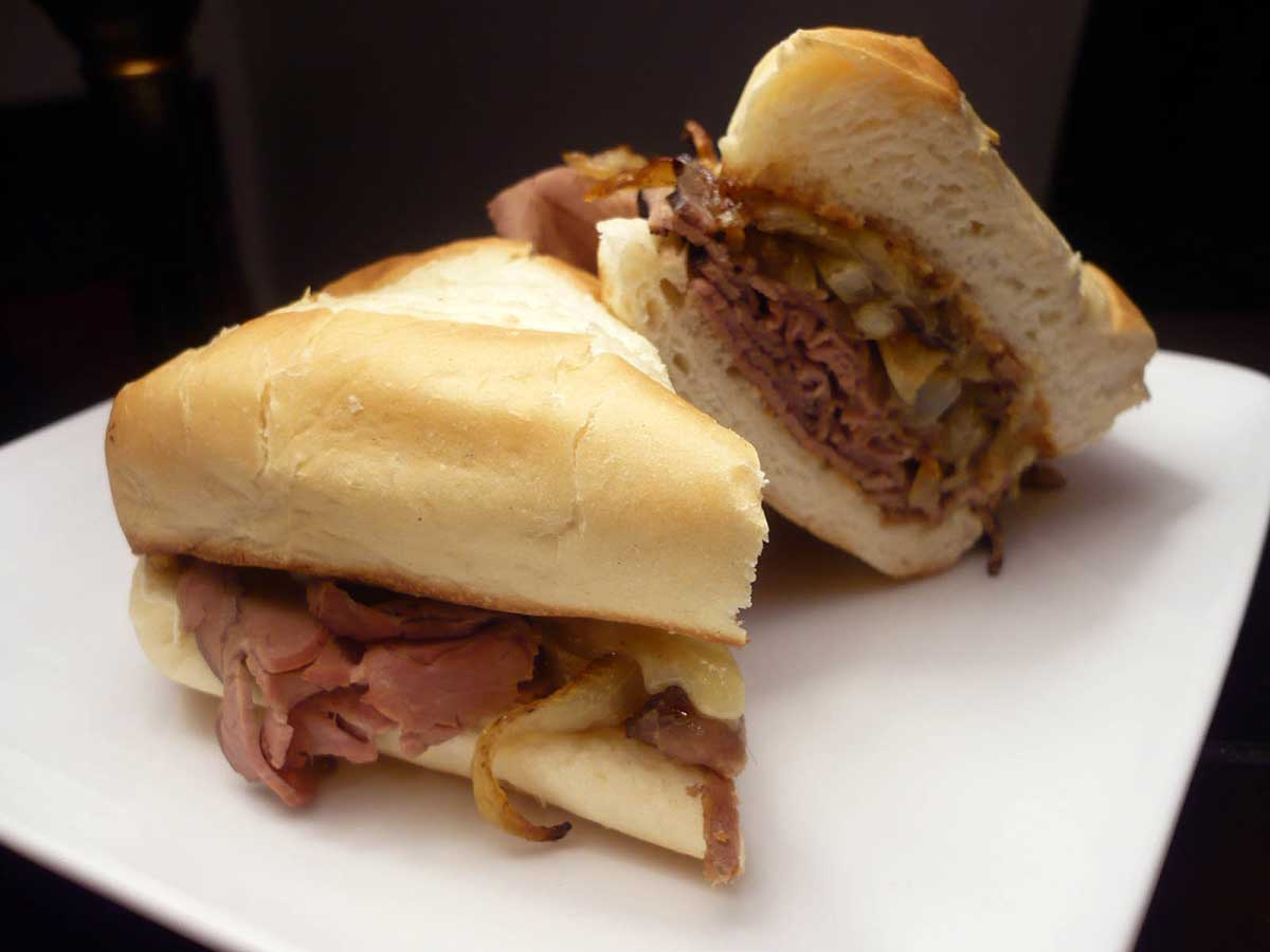 This recipe for hot roast beef sandwiches is really quite easy and it ...