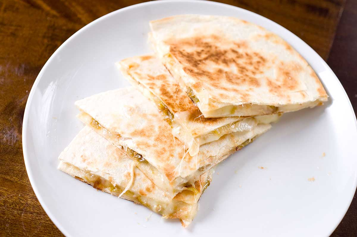 Recipe for Roasted Hatch Chile Quesadillas - Life's Ambrosia Life's ...
