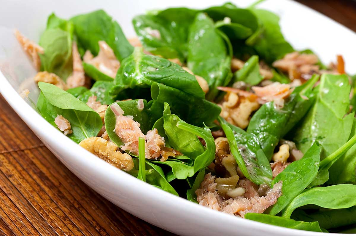 Recipe for Smoked Salmon Salad with Caper Vinaigrette - Life's ...