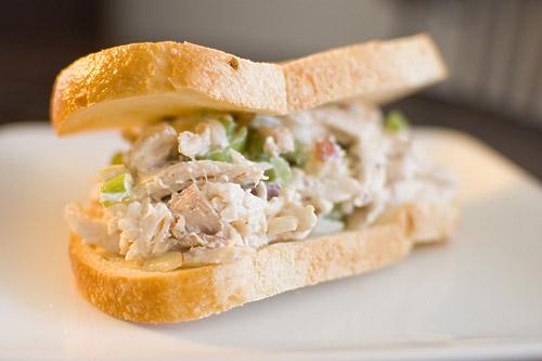 Almond Chicken Salad Sandwich