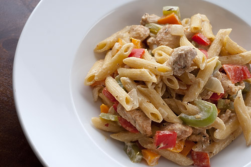 Caribbean Jerk Chicken Pasta