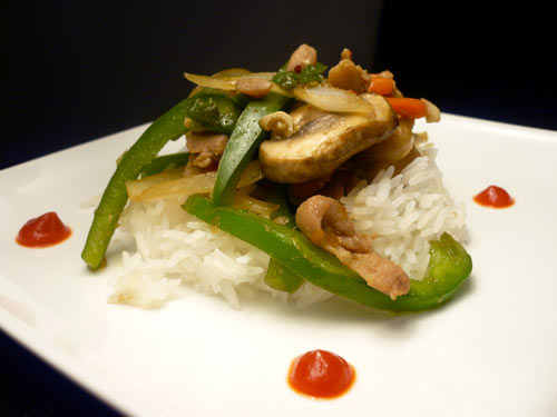 Spicy Chicken Teriyaki Stir Fry