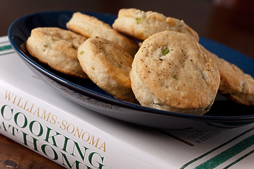 Chive Cream Biscuits