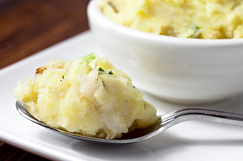 Dungeness Crab Mashed Potatoes