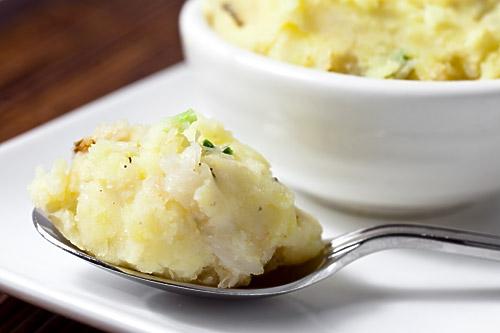 Dungeness Crab Mashed Potatoes