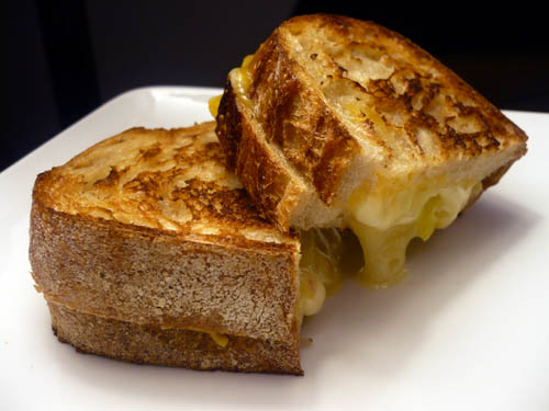 Yummy Cheesy Good Grilled Cheese Sandwich Recipe from Life's Ambrosia Food Blog