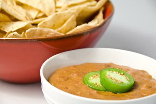 Hot Bean and Cheese Dip