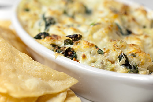 Hot Crab, Spinach and Artichoke Dip