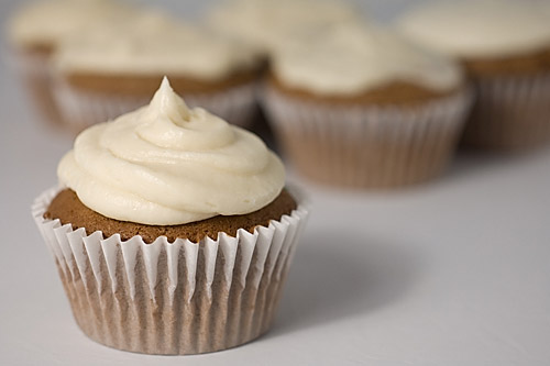 Irish Cream Cupcakes with Coffee Frosting