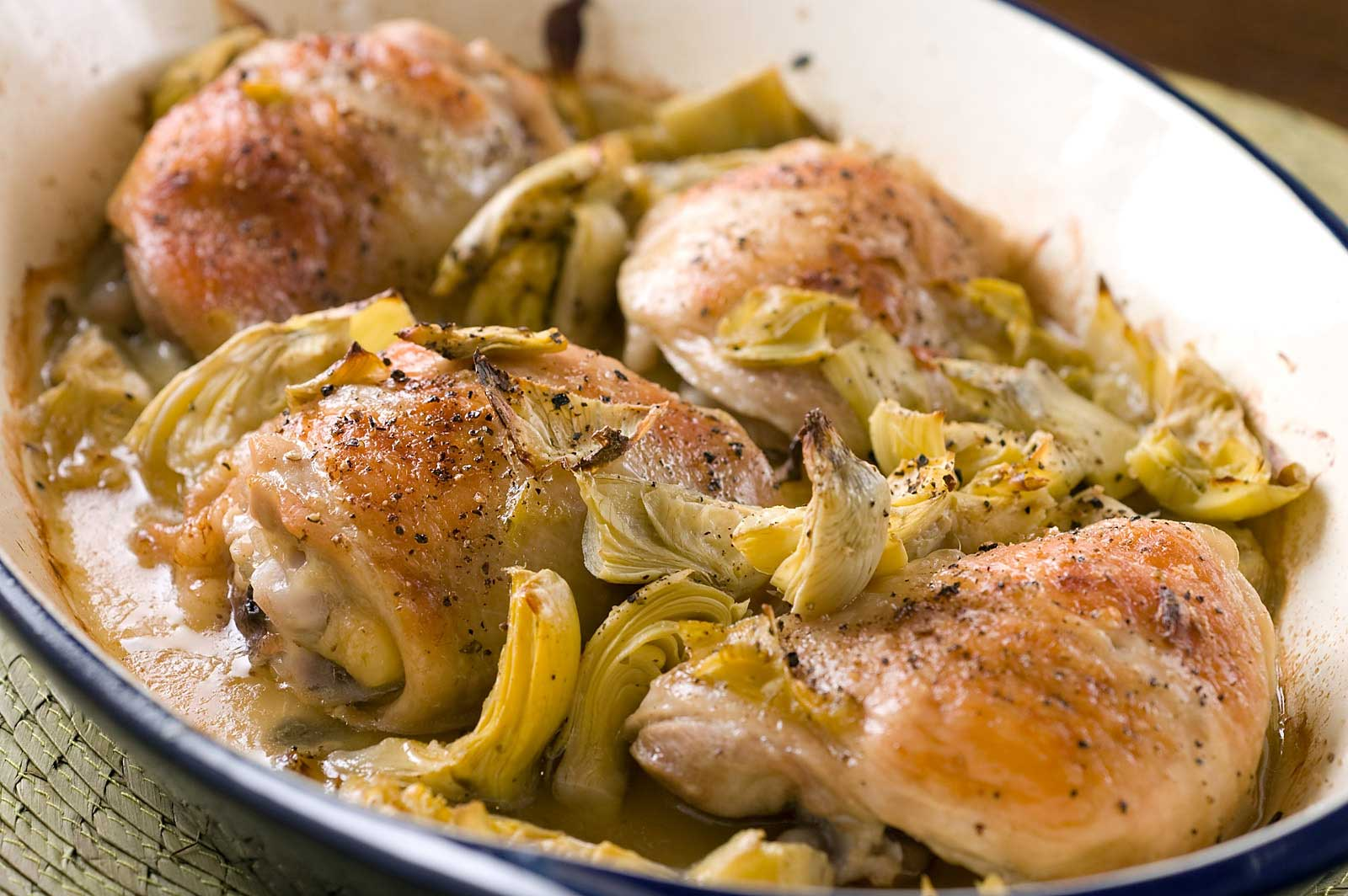 Recipe for Baked Chicken with Artichokes - Life's Ambrosia Life's ...