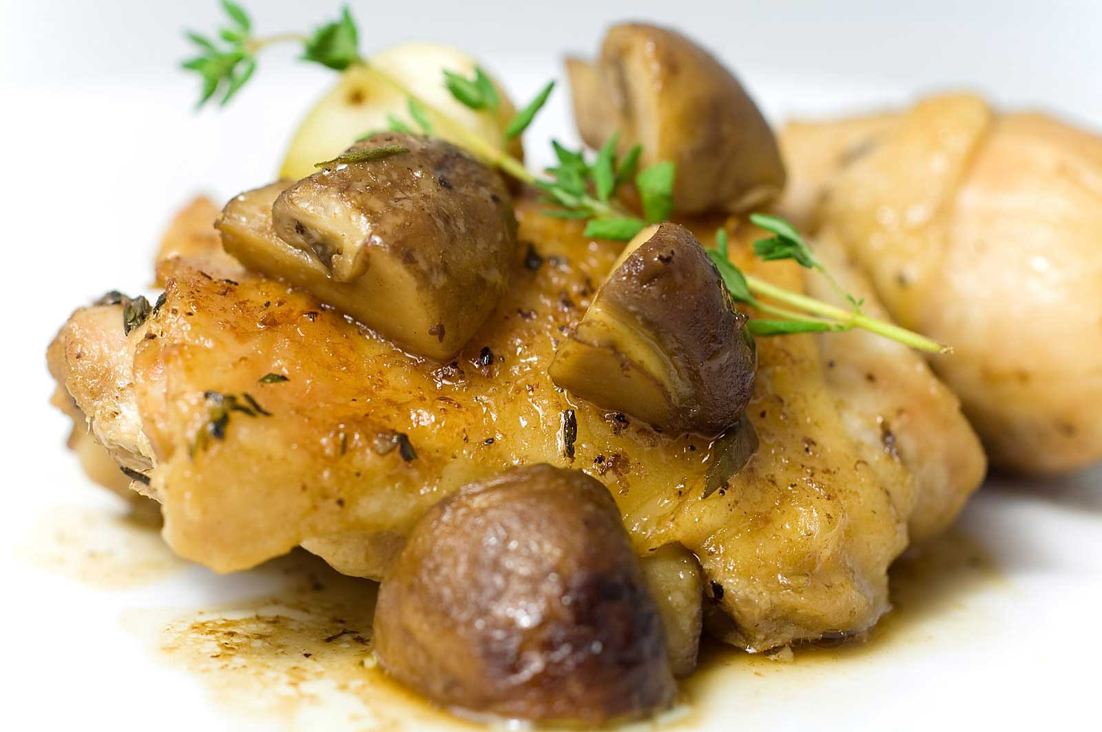 Recipe for Baked Chicken with Mushrooms - Life's Ambrosia Life's ...