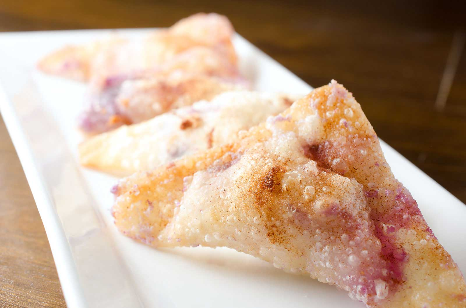 Cream Cheese Won Tons Recipe — Dishmaps