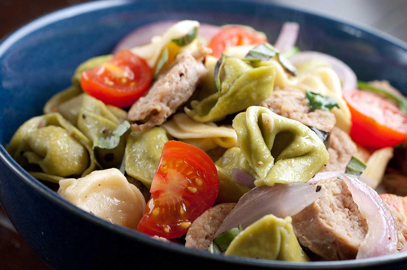 Spinach And Cheese Tortellini Primavera Recipes — Dishmaps