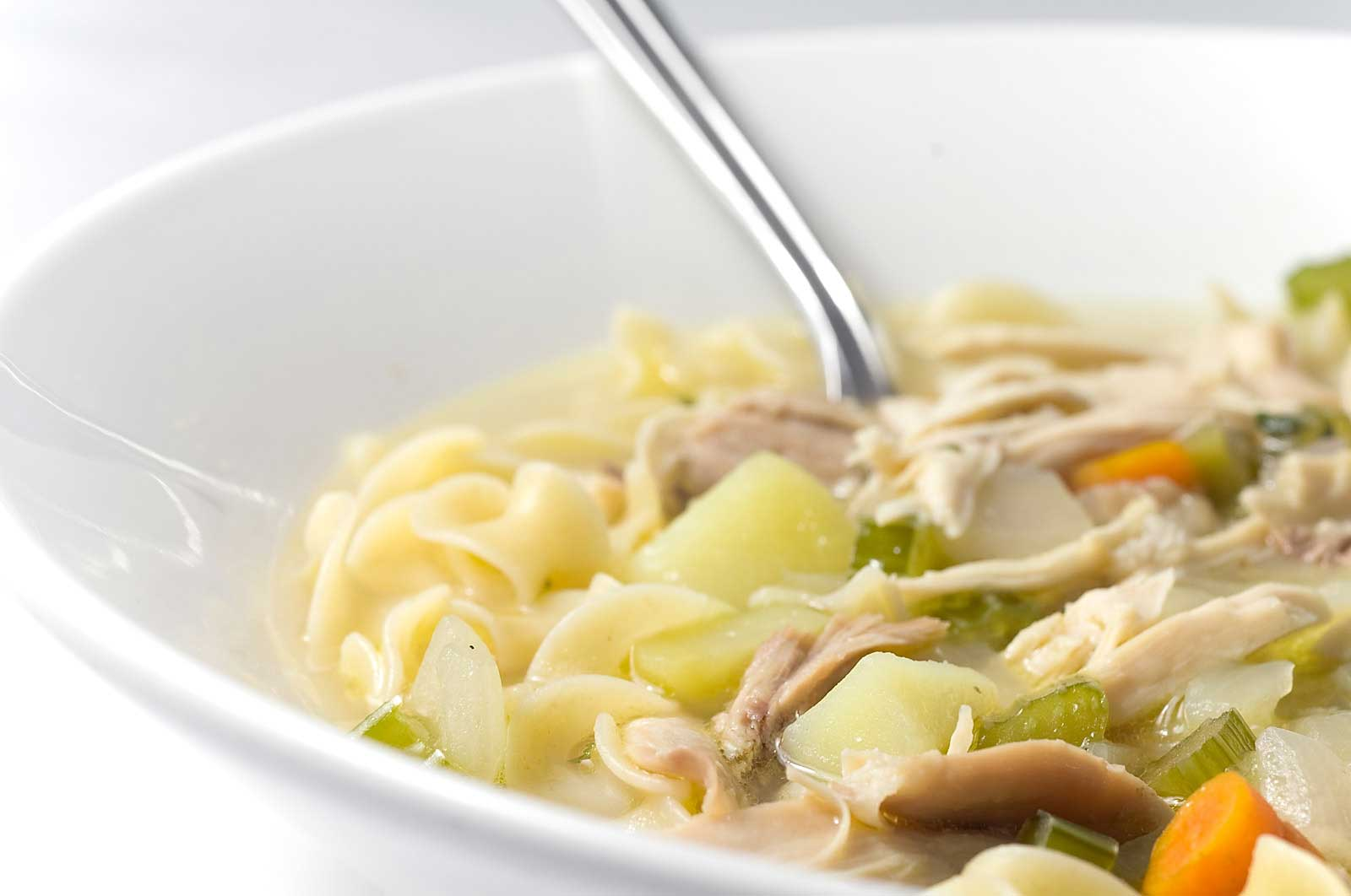 Recipe for Chicken Noodle Soup - Life's Ambrosia Life's Ambrosia