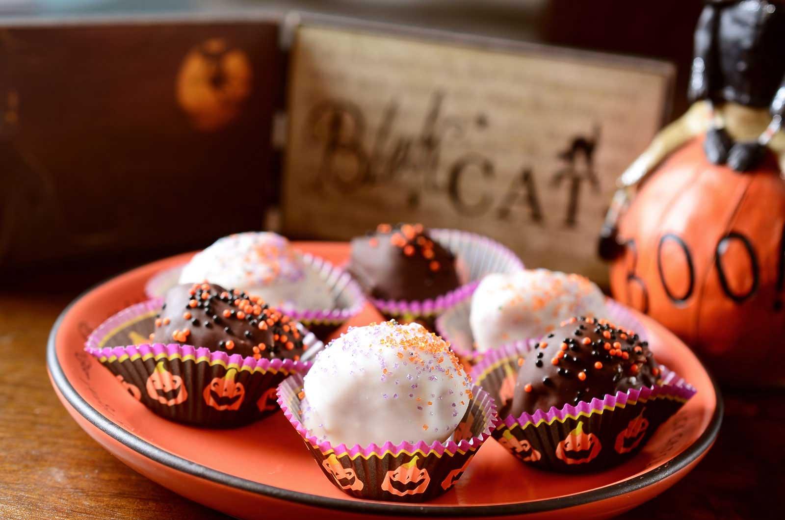 Chocolate-Brandy Balls Recipes — Dishmaps