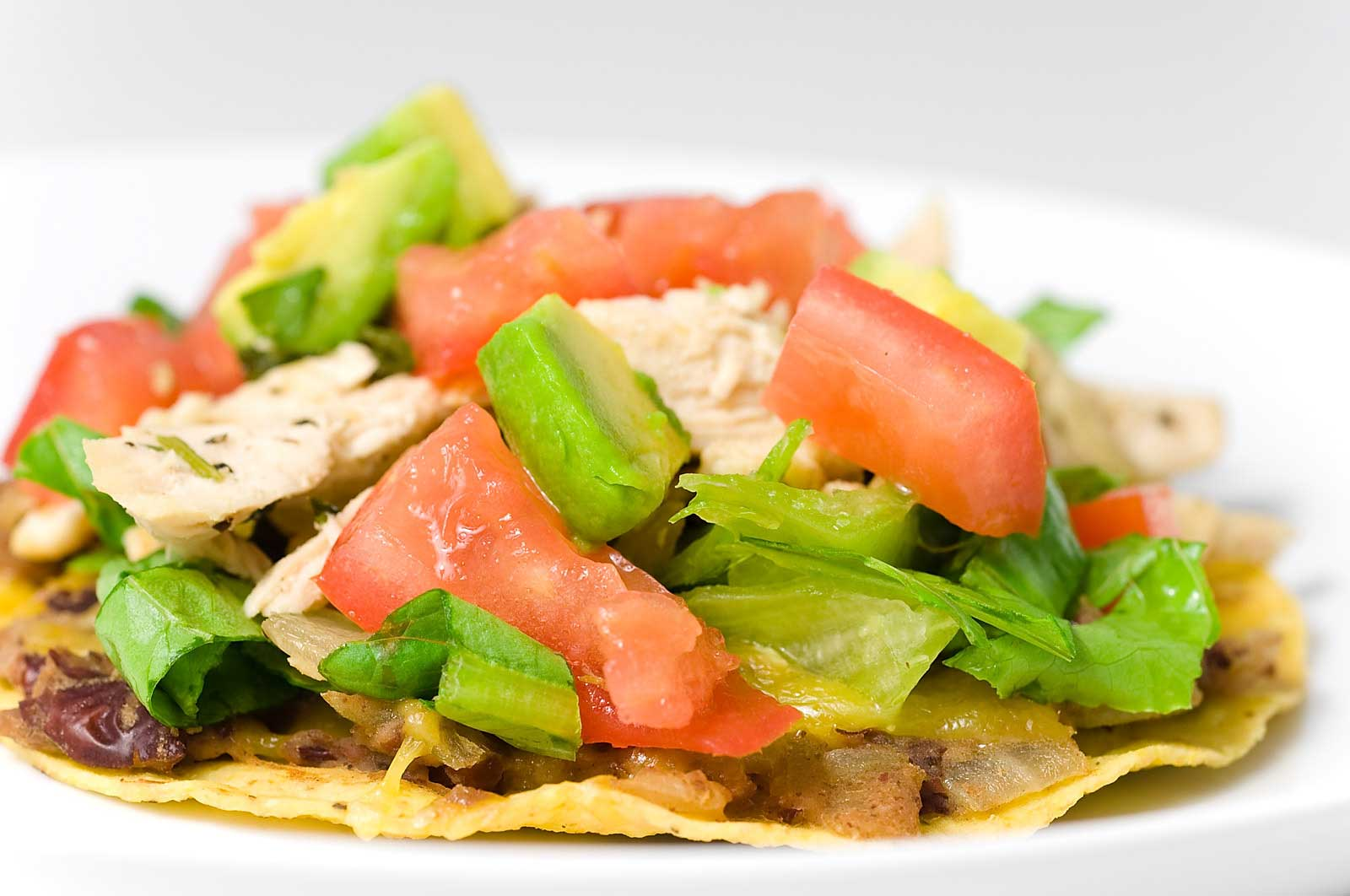 Chris Powell's High-Carb Chicken Tostadas | BodeChallenge