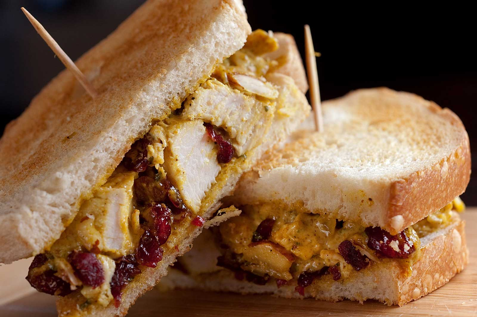 Recipe for Curried Chicken Salad Sandwich - Life's Ambrosia Life's ...