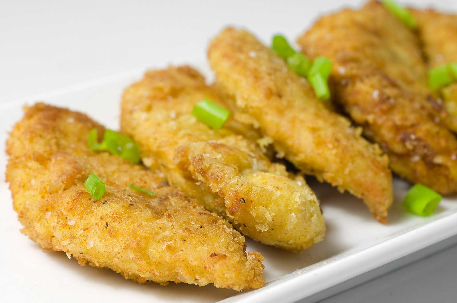 Recipe for Curried Chicken Tenders at Life's Ambrosia