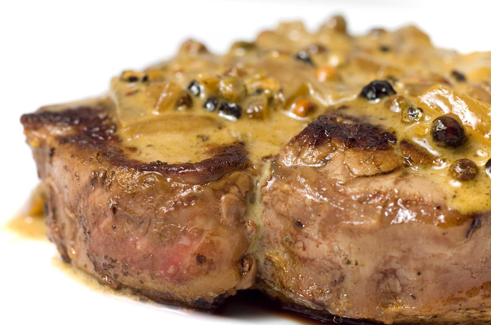 Recipe for Filet Mignon with Peppercorn Sauce - Life's Ambrosia Life'...