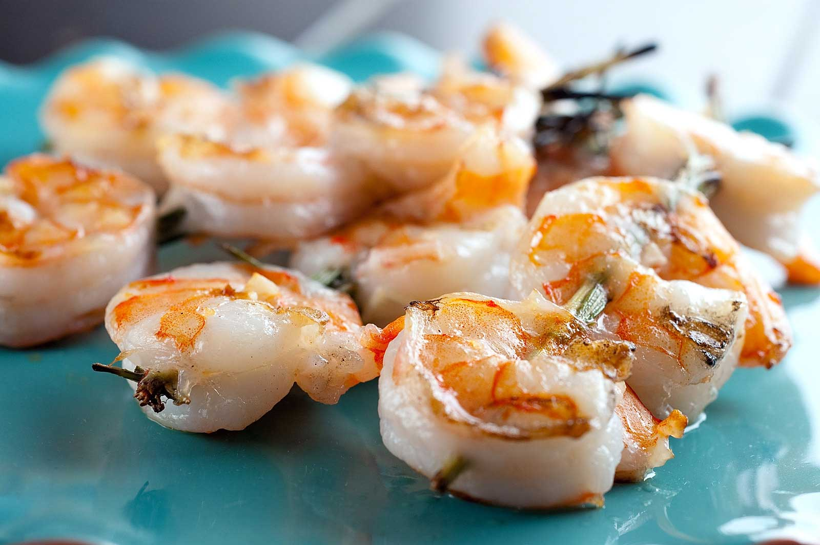 Recipe for Grilled Shrimp and Rosemary Skewers - Life's Ambrosia Life ...