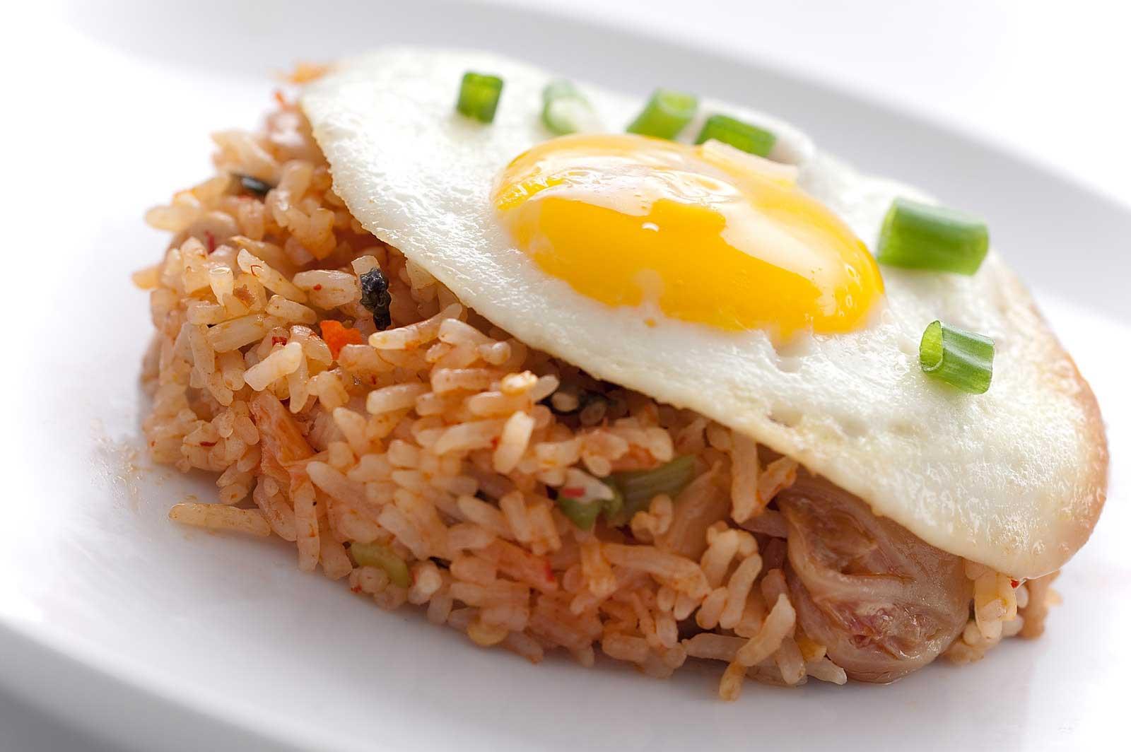 Recipe for Kimchi Fried Rice - Life's Ambrosia Life's Ambrosia