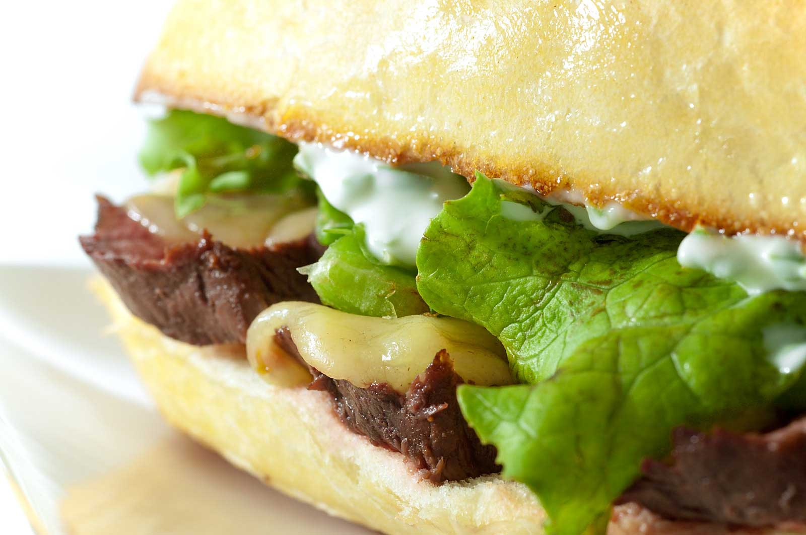 think its safe to say that steak sandwiches are the ultimate man ...