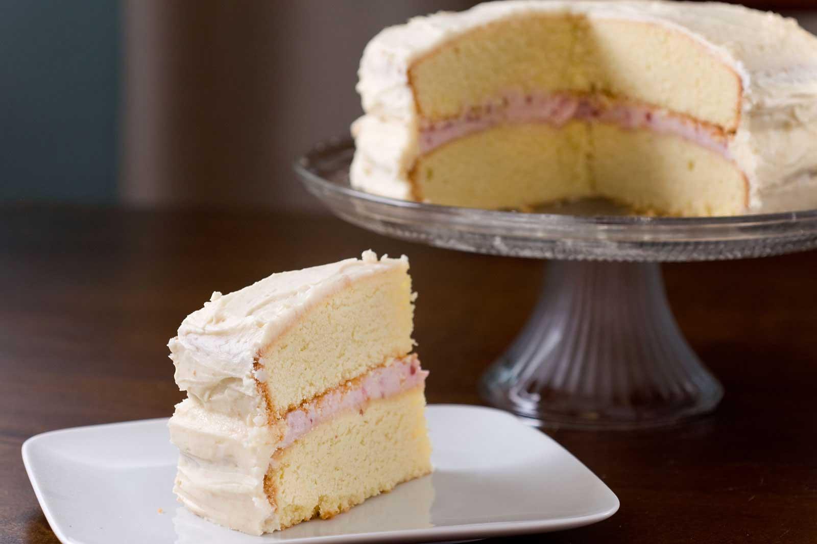creamy raspberry cake filling