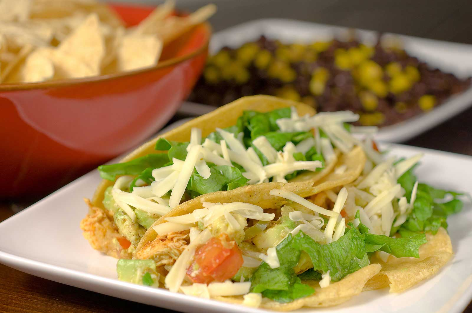 Recipe for Shredded Chicken Tacos - Life's Ambrosia Life's ...