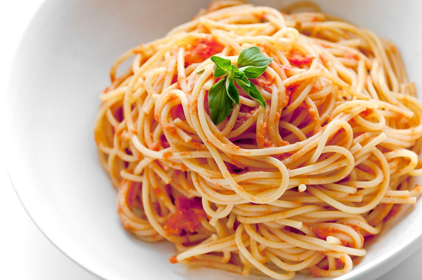 Spaghetti with Creamy Marinara Recipe