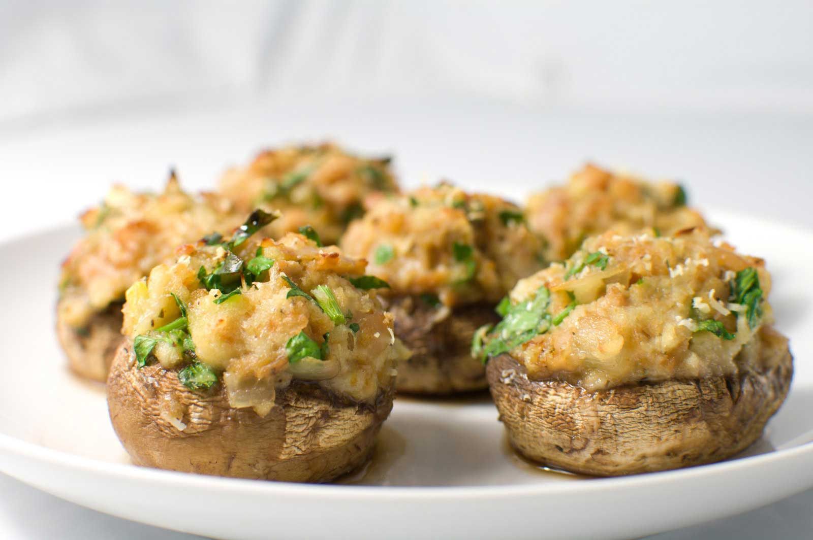 Stuffed Mushrooms | The Girl Who Ate.
