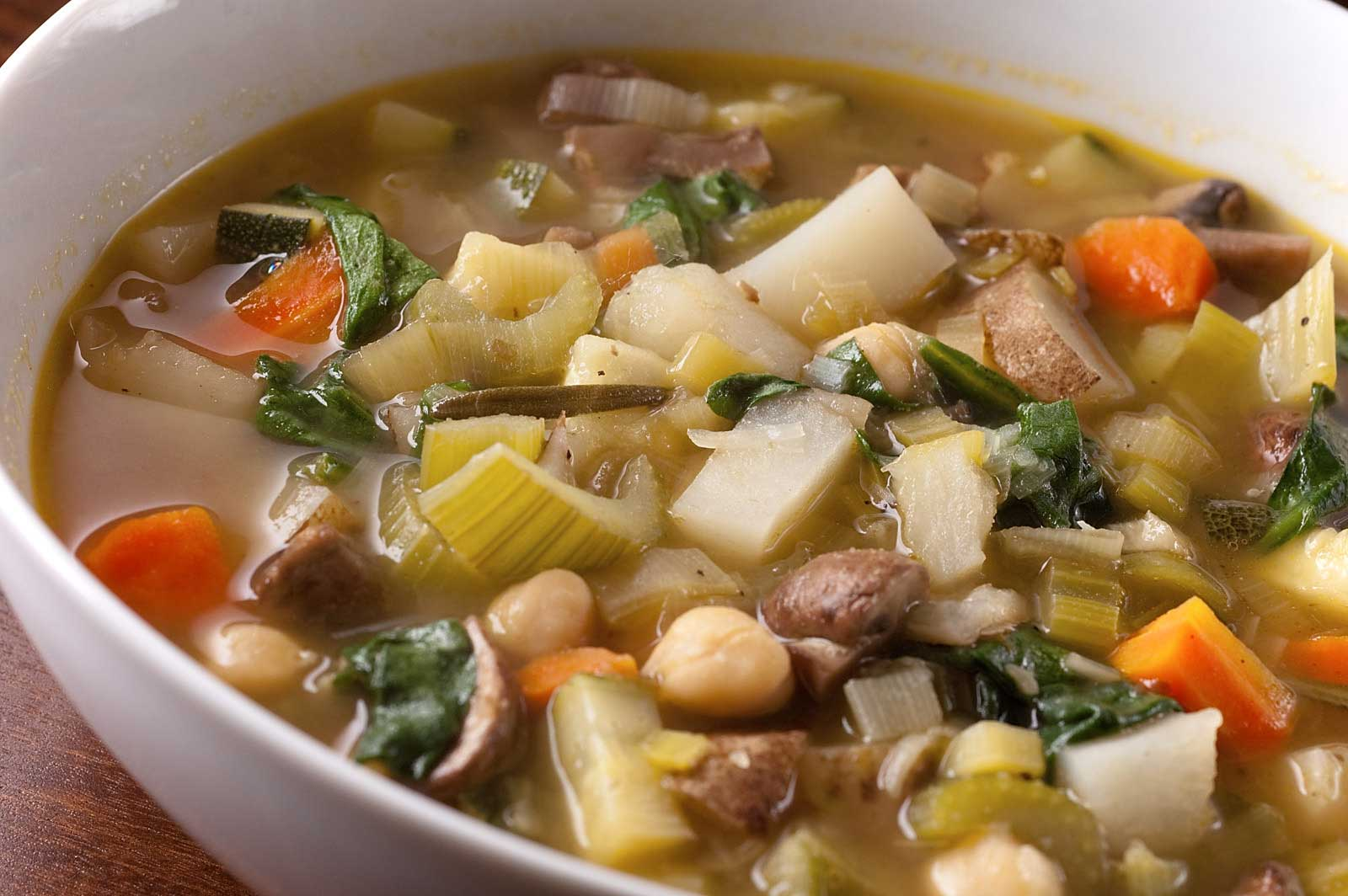 Recipe for Vegetable Soup - Life's Ambrosia Life's Ambrosia