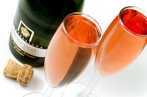 коктейли на основе шампанского.