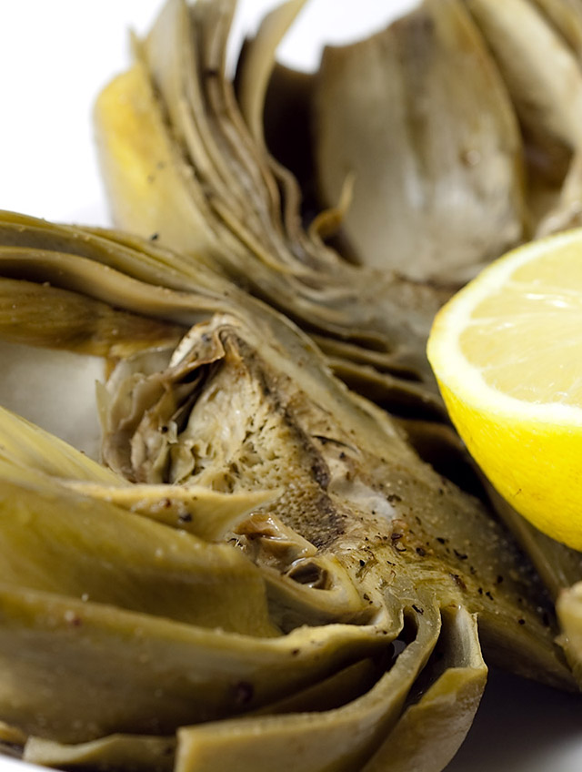 Recipe for Baked Artichokes with Lemon and Wine - Life's Ambrosia Life ...