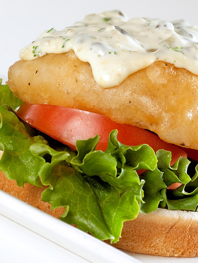 Recipe for Beer Battered Fish Sandwich - Life's Ambrosia Life's ...