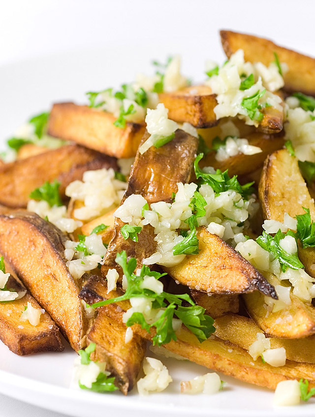 Recipe for Garlic Fries - Life's Ambrosia Life's Ambrosia