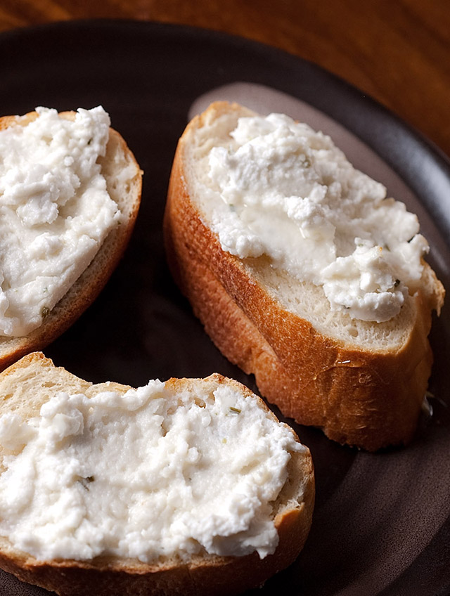 Recipe for Goat Cheese and Honey Crostini - Life's Ambrosia Life's ...