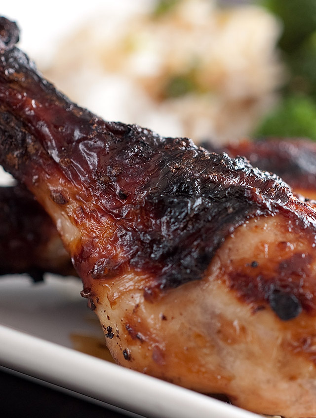 Grilled Asian Chicken - Life's Ambrosia