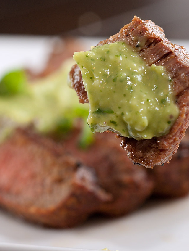 Recipe for Grilled Steak with Avocado Sauce - Life's Ambrosia Life's ...