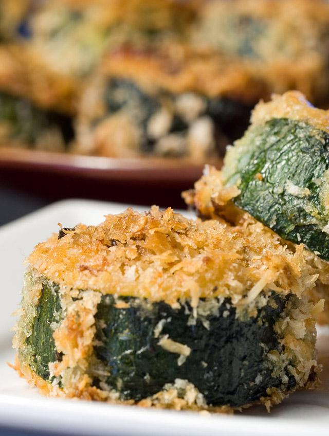 Recipe for Mozzarella Stuffed Zucchini Bites - Life's Ambrosia Life's...