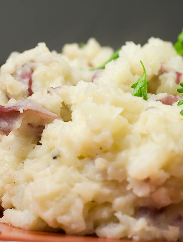 Recipe for Roasted Garlic Mashed Red Potatoes - Life's Ambrosia Life'...